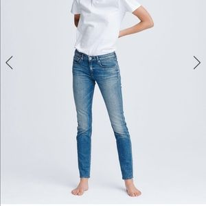Rag & bone the Dre low-rise boyfriend Jean